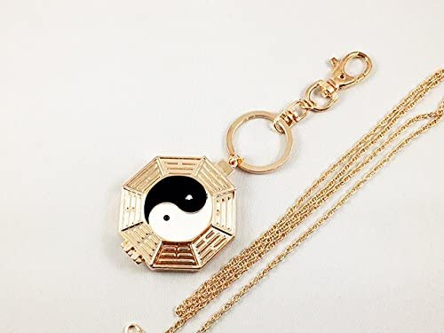 One of a Kind Eight 100% quality warranty Trigrams Finally resale start Magnifying Foldable Tai-CHI Gl 5X