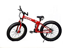 MDS Unlimited Bicycles-Foldable Sports Cycle with 24 Gears and Double disc Brake 26-inch MTB Cycle