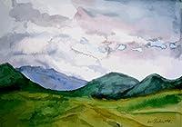 数字によるDiyの絵画波海景モダンウォールアート画像数字によるキットホーム装飾着色による数字 40×50cm