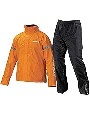 コミネ(KOMINE) バイク用 STDレインウェア オレンジ XL RK-543 896 雨具 カッパ