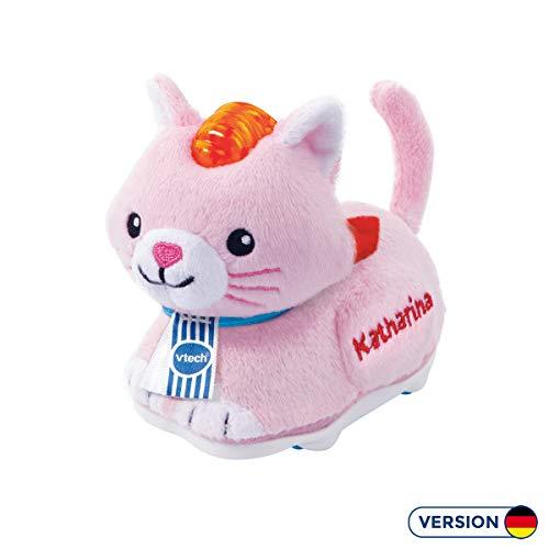Vtech 80-510104 Tip Tap Baby Tiere - Plüsch-Katze pink