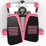 LDDLDG Stepper Fitness - Máquina de entrenamiento para brazos y piernas, minibike, máquina de entrenamiento para piernas, brazos, muslos, ejercicio de cuerpo completo