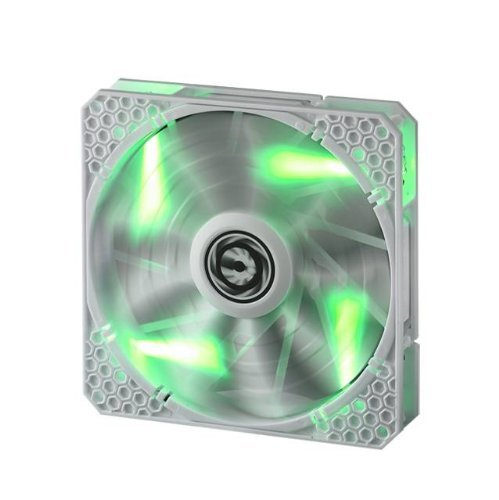 BitFenix Spectre Pro 140mm Green LED Case Fan BFF-WPRO-14025G-RP White
