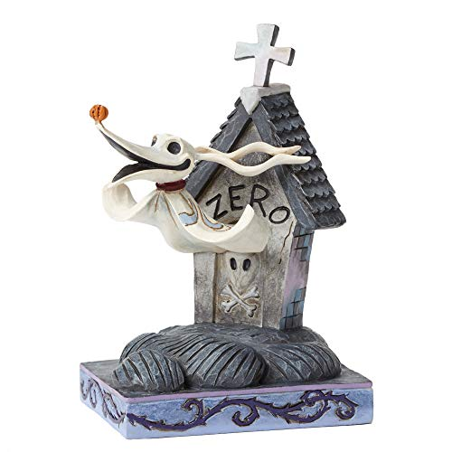 Zero & Dog House Figurine