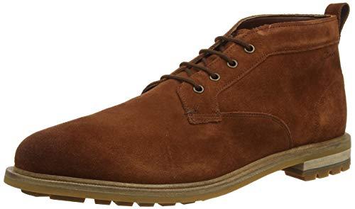 Clarks Herren Foxwell Mid Chukka Boots, Braun (British Tan British Tan), 45 EU