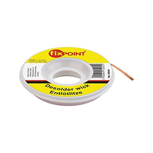 Fixpoint Entlötlitze 1mm zur Entfernung von Lötzinn an Lötstellen 1,5m,...