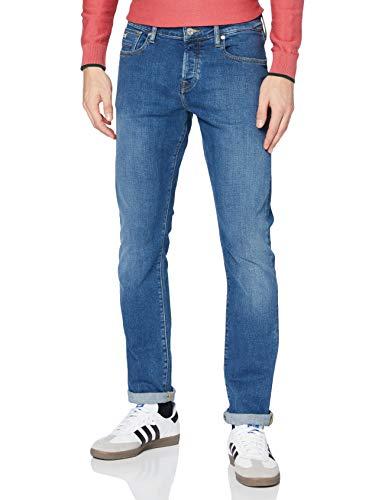 Scotch & Soda Mens Ralston - Regular Slim Fit Jeans, Nouveau Blue, 31/32
