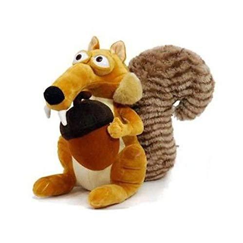 LYH2019 Funny Cute Animal Doll Ice Age 3 Scrat Squirrel Stuffed Plush Toy Gift 27Cm