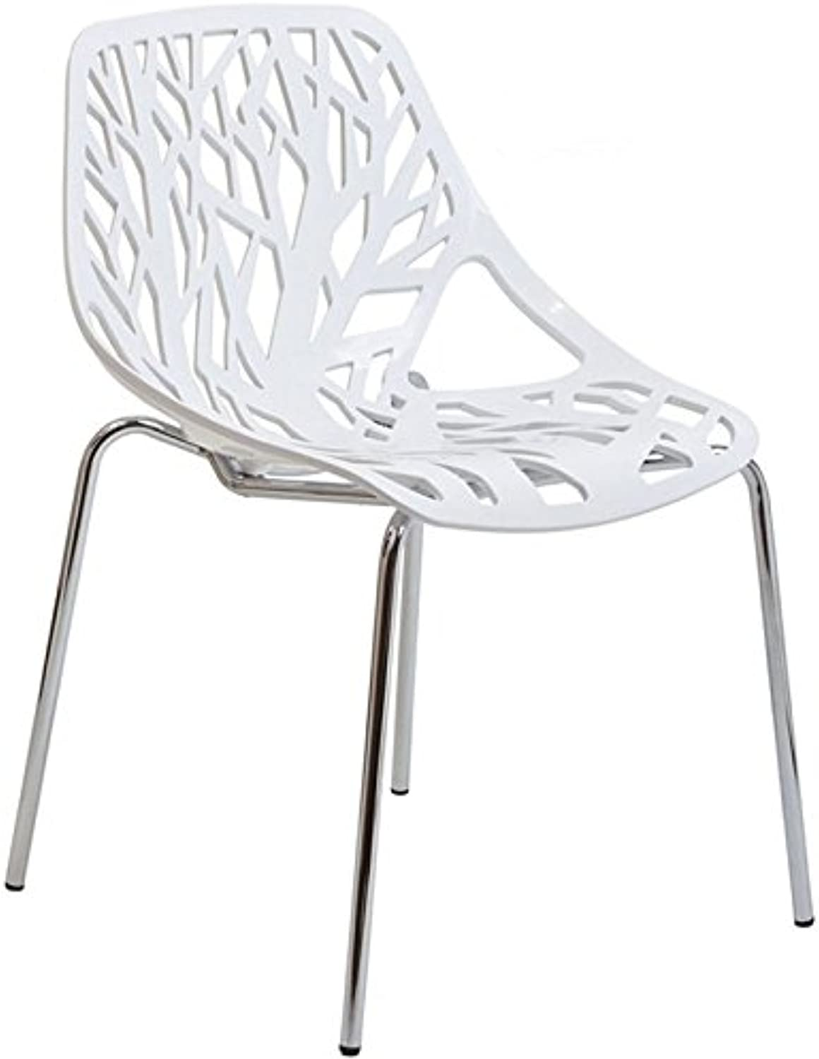 Hawthorne Collection Dining Side Chair in White