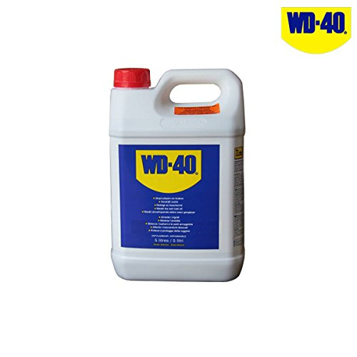WD40 Lubrificante sbloccante tanica d Gleitgel Kriechöl Kanister mit 5 Liter, blue