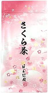Sakura cherry blossom blooming flower tea 40g (1.40 oz) - Japanese salt-pickled cherry blossom infusion