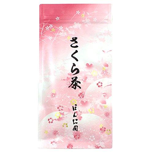 花びらひらくお茶 さくら茶 40g(1袋) ほんぢ園 sm