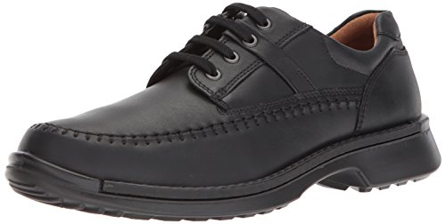 ECCO Men's Fusion Moc Oxford, Black, 45 EU/11-11.5 M US