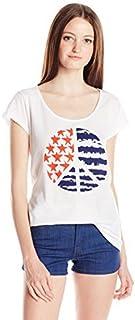 Volcom Juniors' Americana Peace Graphic T-Shirt