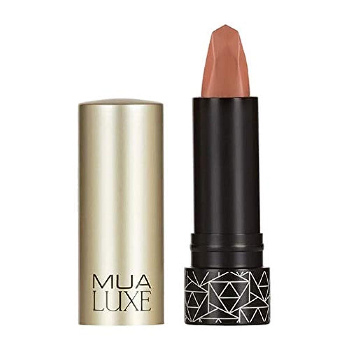 相対的麻痺させる不定[MUA] Muaラックスベルベットマットリップスティック#10 - MUA Luxe Velvet Matte Lipstick #10 [並行輸入品]