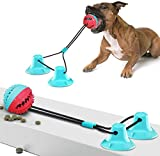 Pet Molar Bite Toy, Dog Chew Toys for Aggressive Chewers, Dog Rope Toys with Suction Cup for Teeth Cleaning