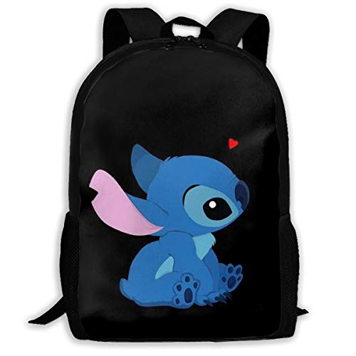 LIUYAN Custom Love Stitch Casual Backpack School Bag Travel Daypack Gift