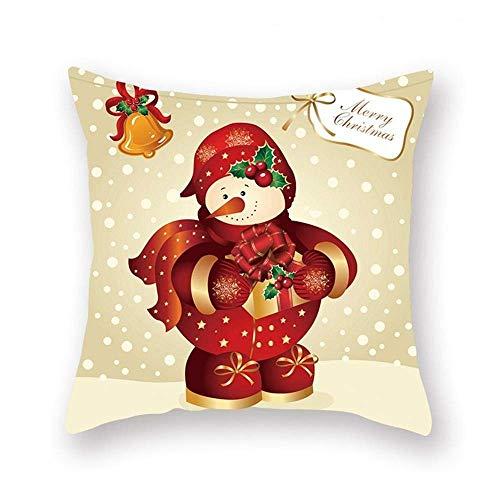 45x45 Christmas Cushion Cover Christmas Decorations for Home Throw Pillows Sofa Home Decor Christmas Pillowcase Pillow Cover