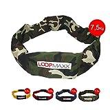 LOOPMAXX Workout Loop - Fitnessband Hometrainer Fitness Damen und Herren 7,5 Kg inkl. eBook,...