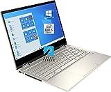 HP Pavilion x360 14' FHD Touchscreen 2-in-1 Convertible Laptop, Intel Core i5-1035G1 Upto 3.6GHz, 16GB RAM, 512GB NVMe SSD, Wi-Fi AX, Bluetooth, Webcam, HDMI, Fingerprint Reader - Windows 10 Pro