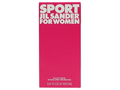 Jil Sander Jil sander sport for women femmewoman eau de toilette 1er pack 1 x 100 ml