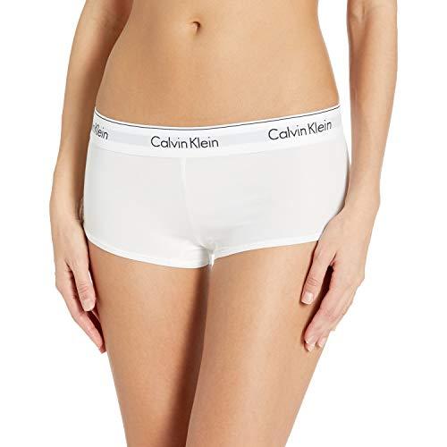 Calvin Klein Women's Regular Modern Cotton Boyshort Panty