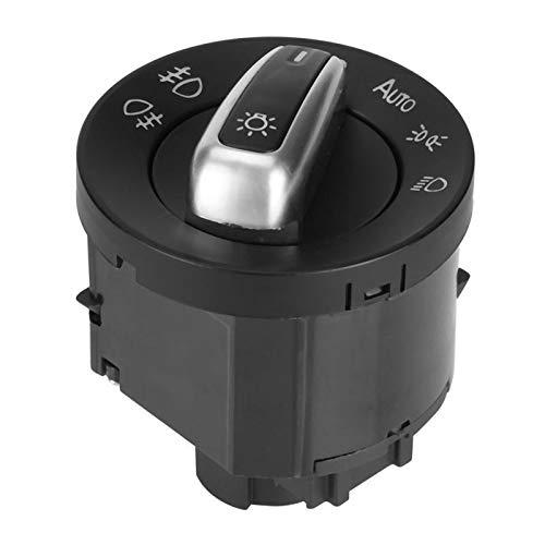 YuQiLin 6pcs Car Faro Faro Retrovisor Espejo Ventana de Potencia Interruptor Control de botón/Ajuste para -VW Passat CC Jetta /
