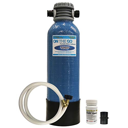 On The Go OTG4-StdSoft-Portable 8,000 Grain RV Water Softener