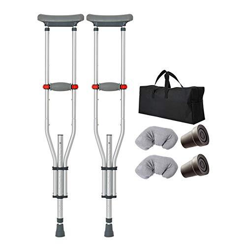 crutch Achselkrücken höhenverstellbar, rutschfest, zusammenklappbar, einziehbar, alt, jung