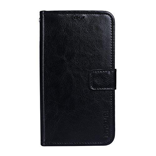 Custodia per Homtom S9 Plus morbida Smartphone con la Funzione di Supporto Cover per Homtom S9 Plus (Nero)