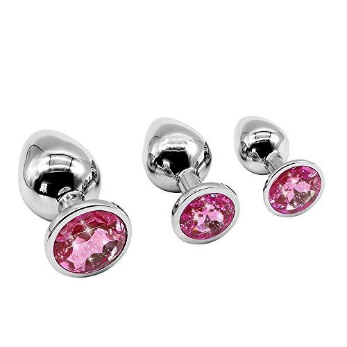 3 PCS Pink Bequemes Spielzeug für Frau im Schlafzimmer