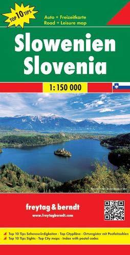 F&B Slovenië 1:150.000: Wegenkaart 1:150 000
