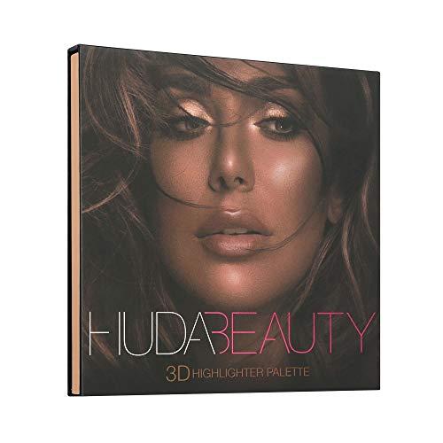 New Huda Beauty 3D highlighter palette-Bronze Sands