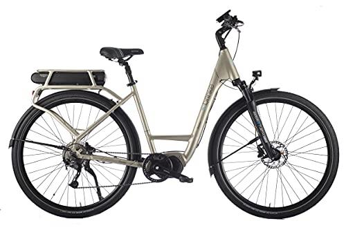 Brinke Bicicletta Elettrica E-Bike Elysee Evo 50 Alivio Motore Shimano E6100 Batteria 418Wh Grigia
