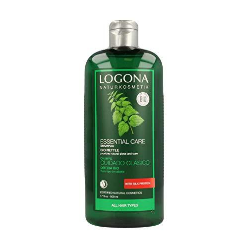 Logona Naturkosmetik cure essenziali Shampoo, ortica, per tutti i tipi di capelli, 8,5 fl oz (250 ml)