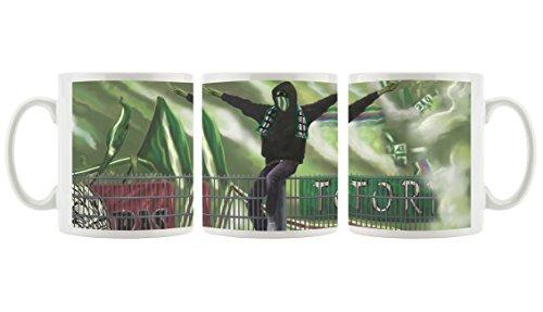 Ultras Rapid als Bedruckte Kaffeetasse/Teetasse aus Keramik, 300ml, weiß