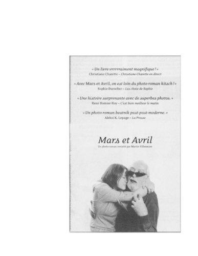 Mars et Avril tome 1