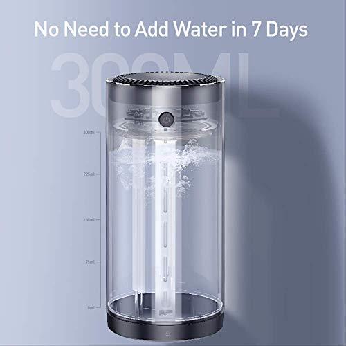 300 ml legering luchtbevochtiger Aaroma etherische olie diffuser voor thuiskantoor Auto luchtreiniger Nano Spray Mute Clean Air Care