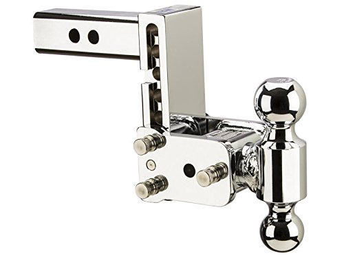 Buy B&W Trailer Hitches Tow & Stow Double-Ball Ball Mount for 2-1/2 Inch Receivers (20040C)
