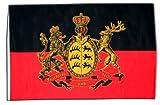 Fahne Flagge Deutschland Württemberg 30 x 45 cm