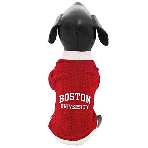 All Star Dogs NCAA Boston University Terriers Athletic Mesh Dog Jersey, Medium