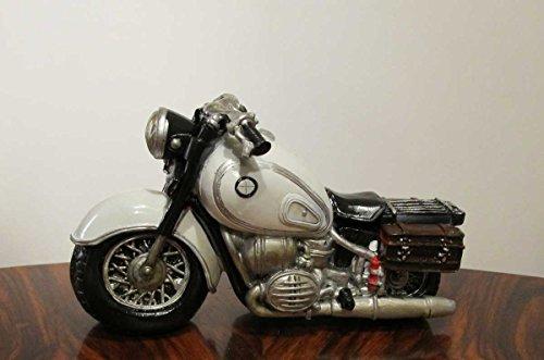 Spardose Motorrad Bike (Weiss)