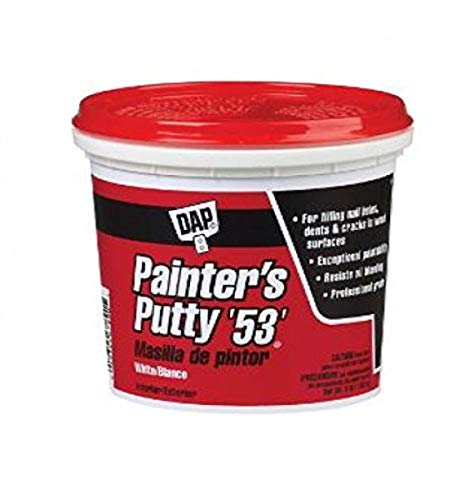 DAP 12242 Painters Putty Pt Raw Building Material, Pint, White