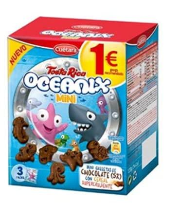 Galletas Oceanix Mini - 12 Und