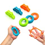 (6Pcs) - ZANPOON Finger Trainer and Hand Grip Strengthener -