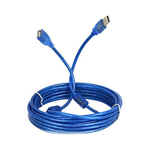 Ba30DEllylelly Cable de extensión USB Macho a Hembra de 5 Metros Cable...