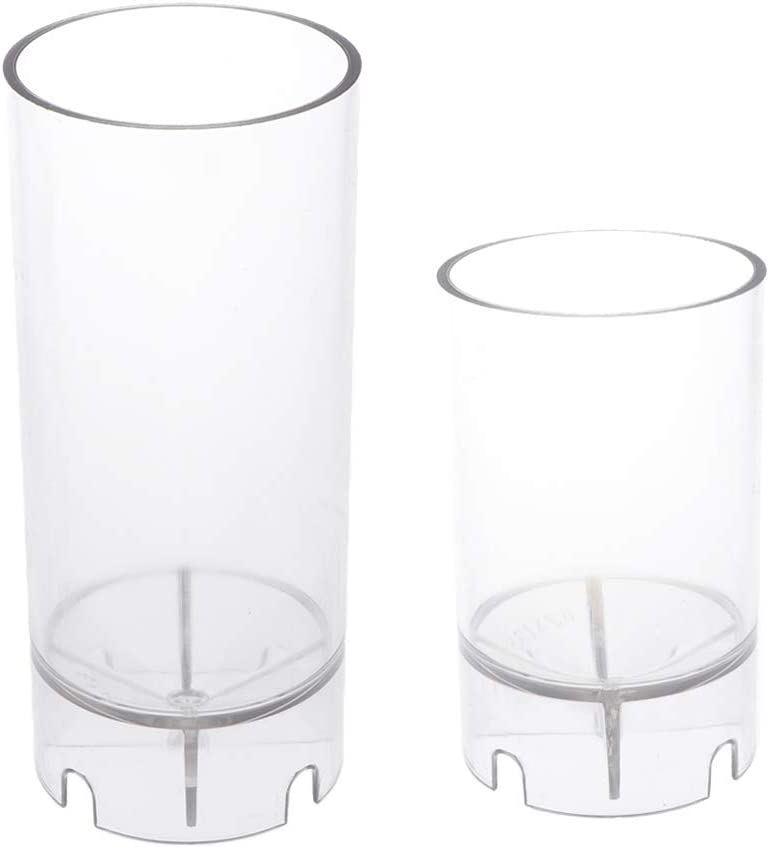 Harilla 2Pc High quality Round Plastic Candle Mold C Spring new work Making Soap DIY for