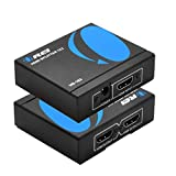 OREI HDMI Splitter 1 in 2 Out 4K - 1x2 HDMI Display Duplicate/Mirror - Powered...