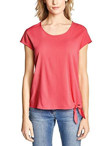 Cecil Damen 341386 Bluse, neo Coralline red, Large (Herstellergröße:L)