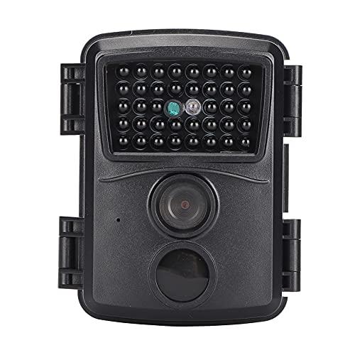 Cámara De Caza, 1080P 12MP Trail Camera Color CMOS Cámara De Monitoreo...